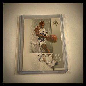 Derrick Rose '11 SP Authentic Card